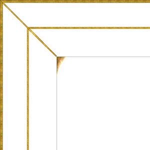 Белая эмаль золото (+2000 руб.)